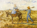 Morning: Peasant Couple going to Work (After Millet)